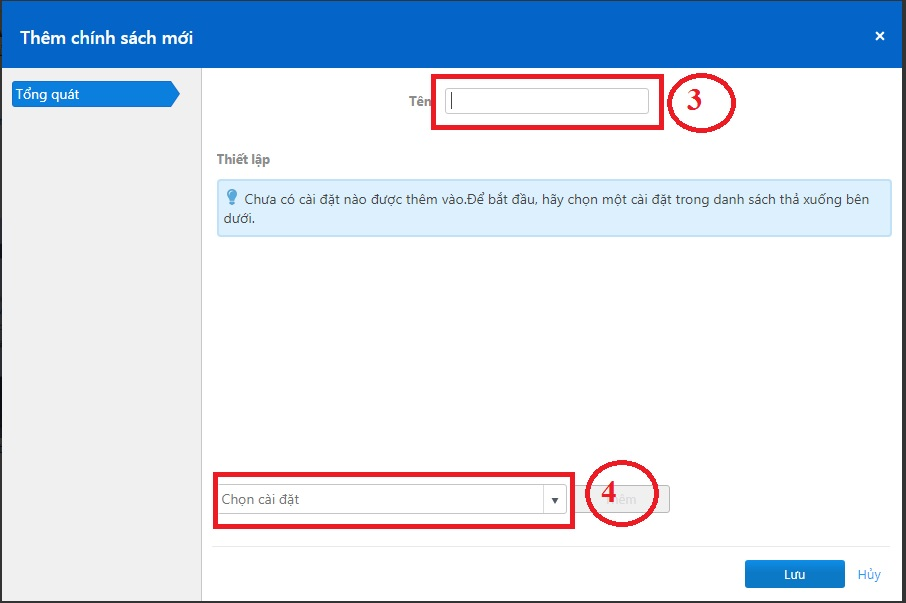 Tạo Policy cho TeamViewer