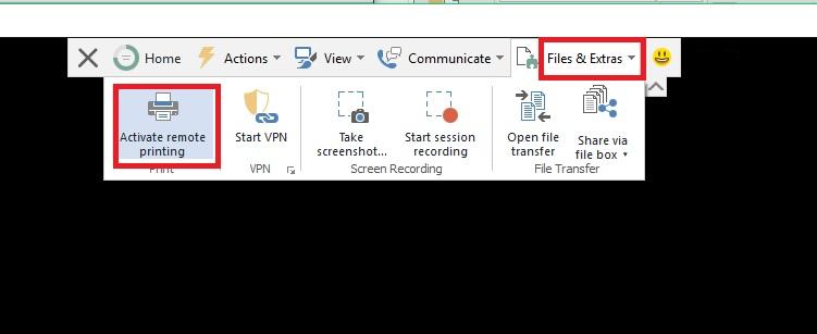 Hướng dẫn dùng Remote Printing trong TeamViewer