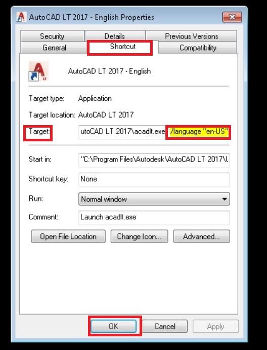 Khắc phục lỗi Script error khi mở AutoCAD LT