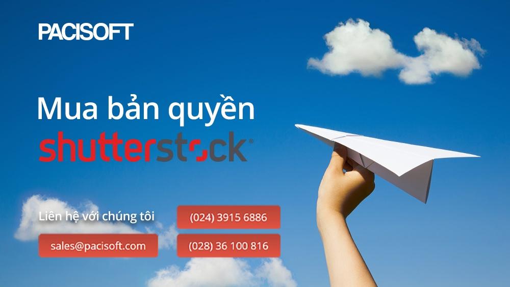 Mua Shutterstock tại Pacisoft