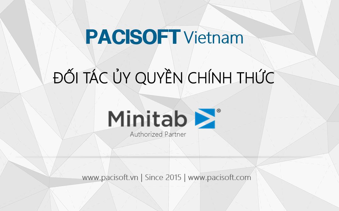Mua bản quyền Minitab tại PaciSoft