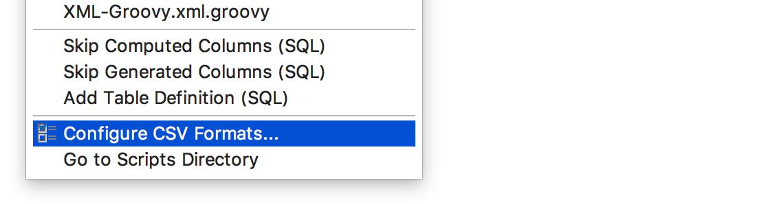 ConfigureDSV