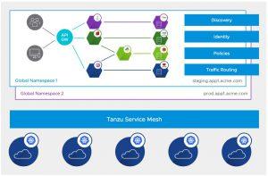 Tanzu Service Mesh và Global Namespaces
